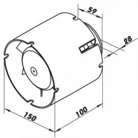 Folie smršťovací STRETCH bílá - šíře 50cm
