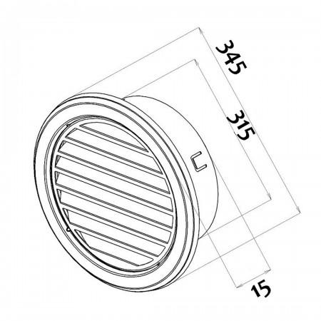 LED žárovka svíčka 6W E14 teplá bílá