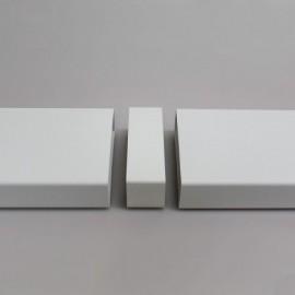Spojka pro čtyřhranné PVC potrubí 204x60 mm - vnější