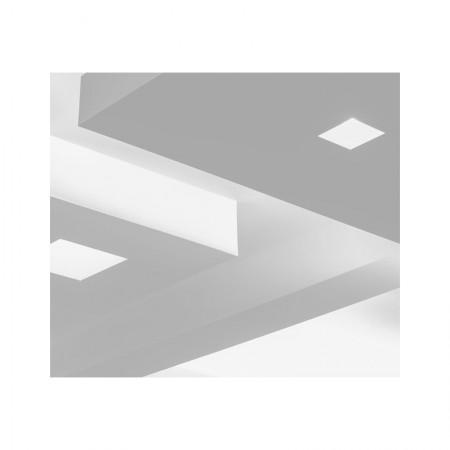 Koleno PVC 90° pro čtyřhranné potrubí horizontální 220x90 mm
