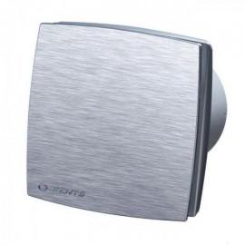 Ventilátor do koupelny Vents 100 LDAL - s kuličkovými ložisky, broušený hliník