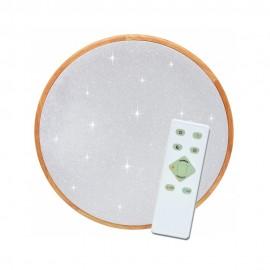 LED osvětlení s dálkovým ovladačem LENA 62cm, 80W, 5200lm, 3000/6500K, IP20, star efekt