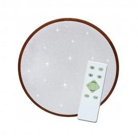 LED osvětlení s dálkovým ovladačem LENA 42cm, 24W, 1600lm, 3000/6500K, IP20, star efekt