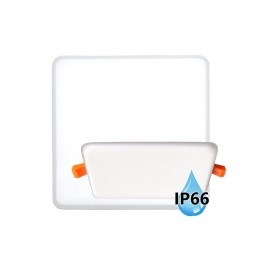 LED panel do koupelny BRIX 8x8cm, 6W, 4000K, IP66