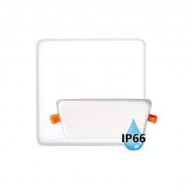 LED panel do koupelny BRIX 13x13cm, 11W, 4000K, IP66