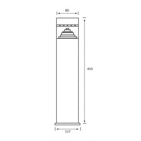 Ventilátor DALAP 100 BFL výkonnější motor, tahový spínač