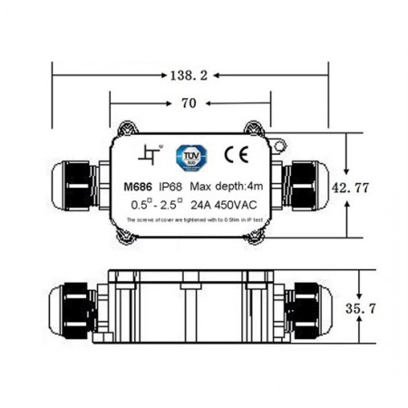 Průmyslový ventilátor Dalap RAB TURBO 550 / 400V