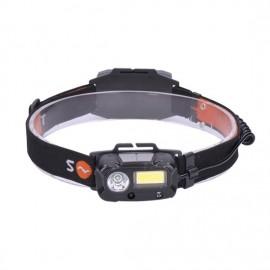 Solight LED čelová nabíjecí svítilna WN30, 3W + 1W