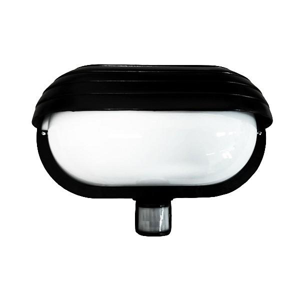 Venkovní svítidlo se senzorem Neptun 2 WHST69-CR černá