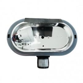 Venkovní svítidlo se senzorem Neptun 2 WHST69-CR černá patice E27