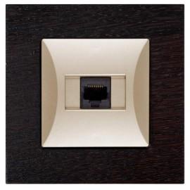 Datová zásuvka pro internet Opus 1x RJ45, moderno