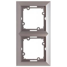 Rámeček Opus stříbrný, dvojnásobný