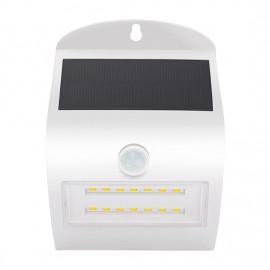 LED svítidlo s čidlem pohybu a solárním nabíjením WL907, 3W, 350lm, 4000K, IP44