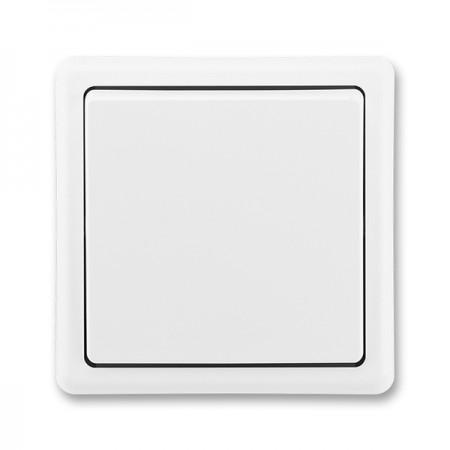 Solight bezdrátový zvonek, do zásuvky, 150m, bílý, světelná signalizace, learning code