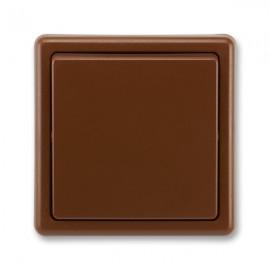 Vypínač č 1 jednopólový hnědý 3553-01289 H3