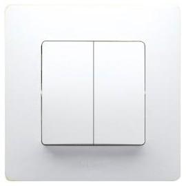 Solight dveřní alarm - gong, bílý, 1-8m