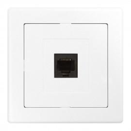 Datová zásuvka pro internet Jupiter 1xRJ45, bílá
