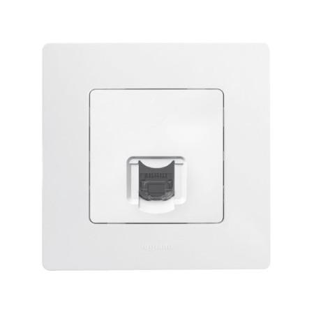 Solight noční LED světélko oblé, 0,5W, bílé, 230V, vypínač