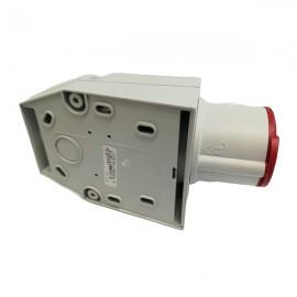 Venkovní zásuvka IZVZ 1643 pro napětí 380 V a 230 V s krytím IP 44 pro venkovní použití spodek