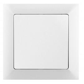 Vypínač Opus Premium č.6 střídavý - schodišťový, bílý