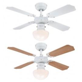 Stropní ventilátor se světlem Westinghouse 78710 - Portland Ambiance