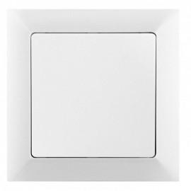 Tlačítko Opus č. 1/0 bílé