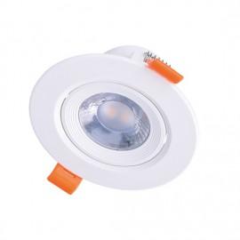 LED bodové svítidlo náklopné WD210 5W 3000K bílé