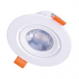 LED bodové svítidlo náklopné WD214 9W 3000K bílé