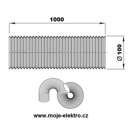 Vypínač lustrový č.5 bílý ABB 3553-05289 B1
