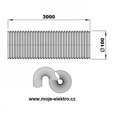 Schodišťový vypínač č.6 bílý ABB 3553-06289 B1