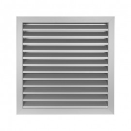 Větrací mřížka z vysoce kvalitního extrudovaného hliníku - 355x355 mm