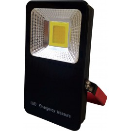 LED reflektor přenosný s powerbankou MCOB 10W, 700lm, 4000K, IP54