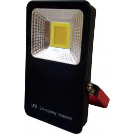 Přenosný bateriový LED reflektor MCOB 10W