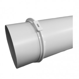 PVC úchyt kulatého potrubí Ø125mm