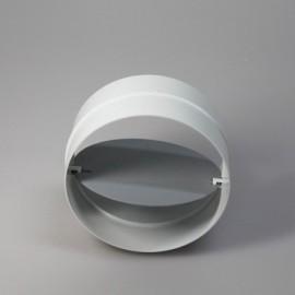 Zpětná klapka PVC pro kruhové potrubí Ø 150 mm