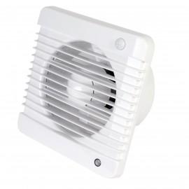 Ventilátor Dalap 125 Grace - vyšší tlak, časovač s pohybovým čidlem