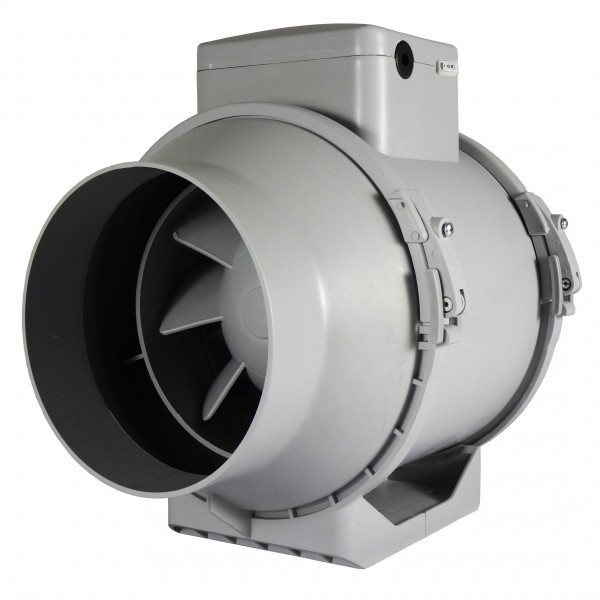 Profesionální ventilátor do potrubí Dalap AP PROFI 150 s vypínačem