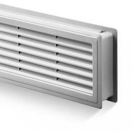 Větrací mřížka do dveří Haco VM 500x90 bílá