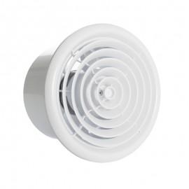 Kruhový ventilátor do koupelny Dalap 100 MIRO - s kuličkovými ložisky