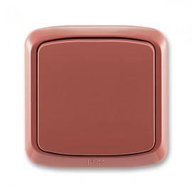 Venkovní vypínač IP44 č.6 TANGO 3558A-06940 R2 vřesově červený ABB