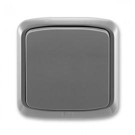 Venkovní vypínač IP44 č.6 TANGO 3558A-06940 S2 kouřově šedý ABB