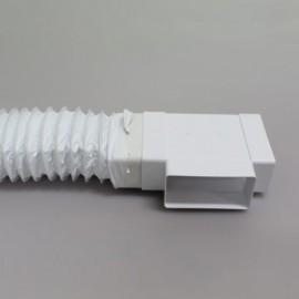 Flexi potrubí plastové čtyřhranné Polyvent - 204x60mm/1m