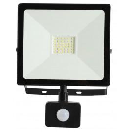 LED SMD reflektor s čidlem TOMI 30W, 2700lm, 6500K, IP44
