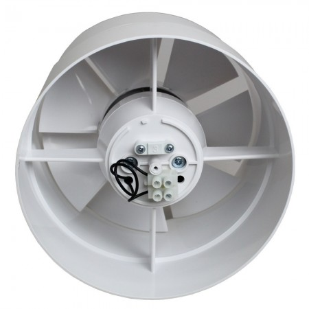 Větrací mřížka na fasádu kruhová s přírubou Ø 125 mm hnědá