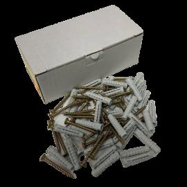 Hmoždinka univerzální s vrutem TXPA-S 6x30 - balení 100Ks