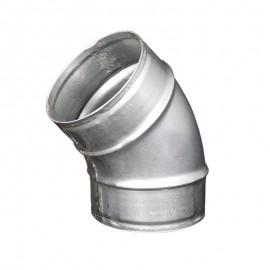 Koleno kovové 45 stupňů - průměr 100 mm