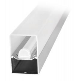 LED svítidlo ALBA 15W stříbrné