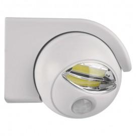 LED noční světlo PIR bílé