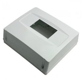 Kryt na jističe 6-8 modulů CP01035 bílý