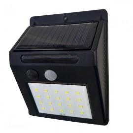LED solární svítidlo s čidlem pohybu GXSO002, 3W, 120LM, 4000K, IP44